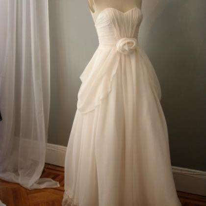 Whimsical Wedding Dresses Rosette