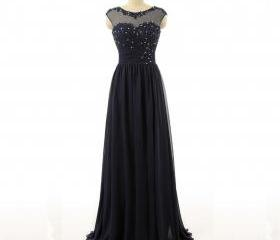 Black Floor Length C..