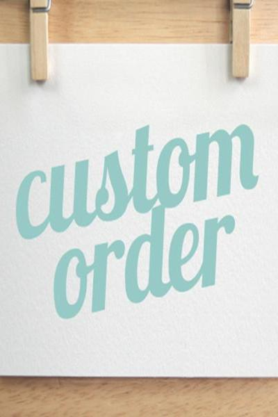 Custom Order Surcharge