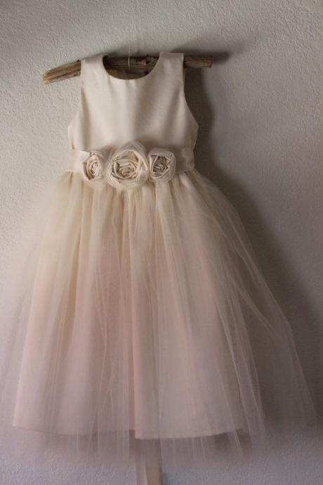 Toddler Tutu Flower Girl Dress