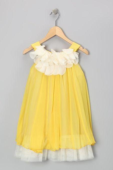 Simple Toddler Flower Girl Dress