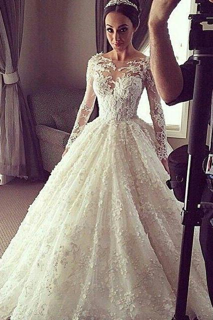 Wedding Dress Long Sleeves