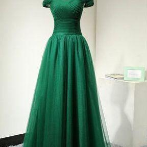 Emerald Green Formal Occasion Dress