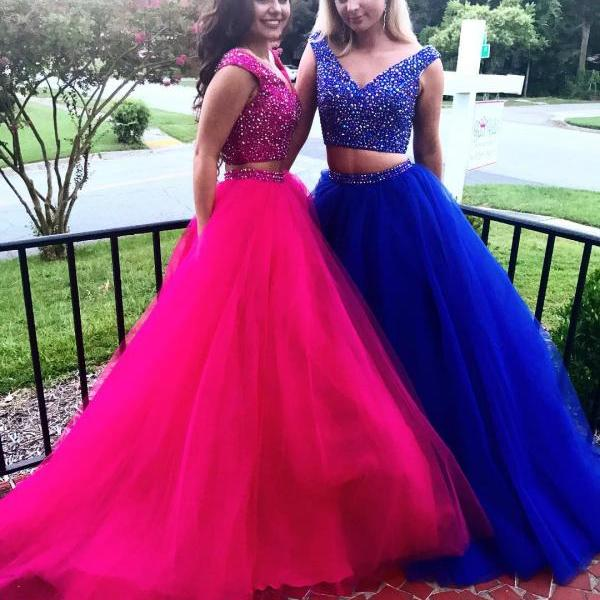Two-piece Prom Dress